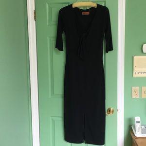 DeNovo Long dress midnight blue